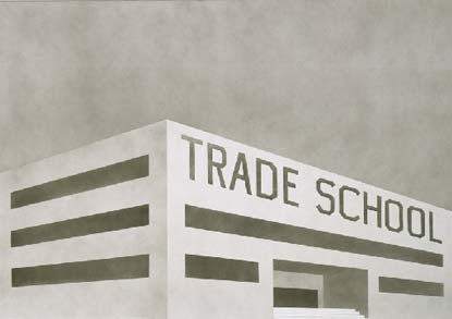 how to start a trade school school building